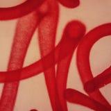 Graffiti et traces de peinture Photo libre de droits