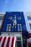 Graffiti famosi in Notting Hill, Londra fotografia stock libera da diritti