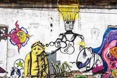 Graffiti 4 stock photos