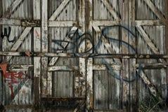 Graffiti Fence stock images