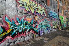 Graffiti at Five Pointz Stock Photos
