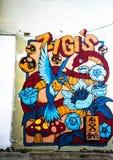 Graffiti-Fotografie Lizenzfreie Stockbilder