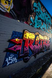 Graffiti-Fotografie Stockbild