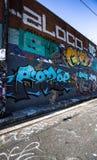Graffiti-Fotografie Lizenzfreie Stockfotografie