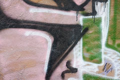 Graffiti. Royalty Free Stock Photography