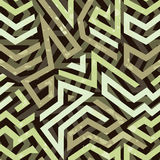 Graffiti grunge geometric seamless pattern Stock Photography