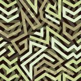 Graffiti grunge geometric seamless pattern Stock Photography