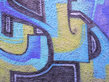 Graffiti grunge texture Stock Images