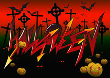 Graffiti Halloween Stock Photos