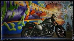 Graffiti HD883 stockbild
