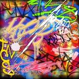 Graffiti-Hintergrund stock abbildung