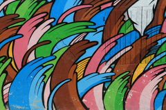 Graffiti house Royalty Free Stock Image