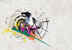 Graffiti image Royalty Free Stock Images