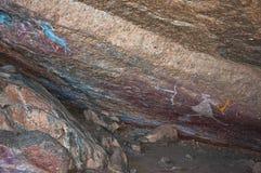 Graffiti indigène Photos libres de droits