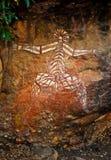 Graffiti indigène Photo libre de droits