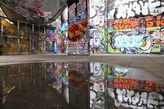 Graffiti in Inghilterra Fotografie Stock Libere da Diritti