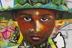Graffiti interbrigadas detail Stock Photos