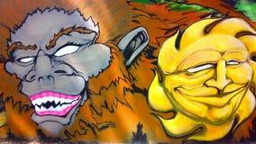 Graffiti izolują lokalnymi artystami ilustracja wektor