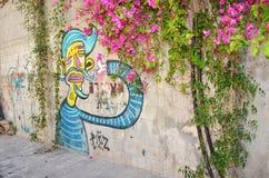 Graffiti in Jaffa Stock Image