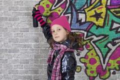 Graffiti-Künstler Stockfotografie