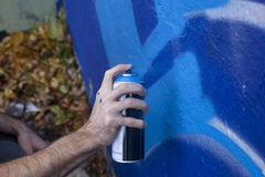 Graffiti-Künstler Lizenzfreie Stockfotos