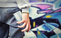Graffiti-Künstler Lizenzfreies Stockbild