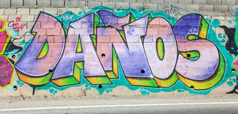 graffiti kolor Zdjęcie Stock
