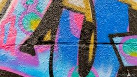 Graffiti kolory i linie Obraz Royalty Free