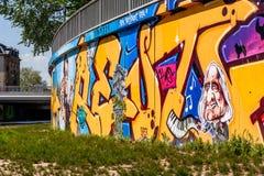 Graffiti-Komponist Richard Wagner Bayreuth Stockfoto
