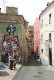 Graffiti in Lisbon Royalty Free Stock Photo