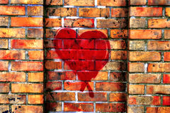 Graffiti with Love Stock Photography