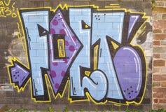 Graffiti malujący Obraz Stock