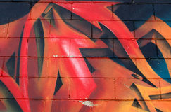graffiti miejskich Obraz Royalty Free