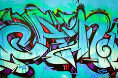 Graffiti in Montreal Royalty Free Stock Images