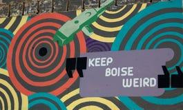 Houd Boise Bizar Stock Foto's