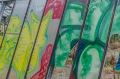 Graffiti na glasshouse obrazy royalty free