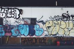 Graffiti in New York Immagine Stock Libera da Diritti