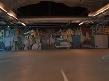 Graffiti obrazy, sztuka royalty ilustracja