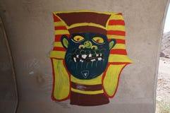 Graffiti onder de Brug Stock Afbeeldingen