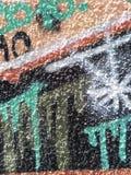 Graffiti op de muur Royalty-vrije Stock Foto