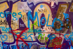 Graffiti painted or Overlay Royalty Free Stock Photos