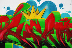 Graffiti painting stock photography