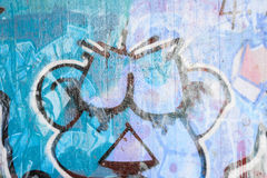 Graffiti painting Stock Images