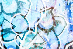 Graffiti painting. On stone wall royalty free stock image