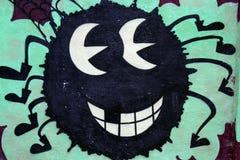 Graffiti pająk Zdjęcie Stock