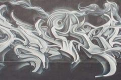 Graffiti par l'auteur américain Mark Twain Photos libres de droits