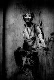 Graffiti parisien Photo stock