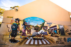 Graffiti Photography. Pictures of  graffiti murals photography around Sydney Royalty Free Stock Photography