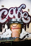Graffiti Photography. Pictures of  graffiti murals photography around Sydney Royalty Free Stock Images