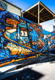 Graffiti Photography. Pictures of  graffiti murals photography around Sydney Stock Image